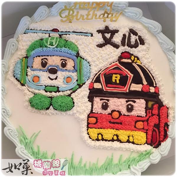 編號:K115_赫力vs.羅伊手繪卡通造型蛋糕_10吋 1590元/12吋 2090元