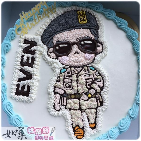 編號K101_劉大尉卡通蛋糕_10吋 1590元/12吋 2090元