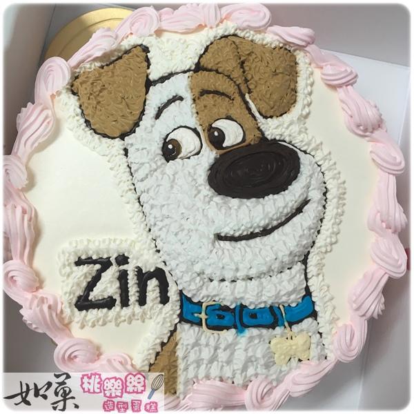 編號:001_寵物當家:小狗麥斯手繪卡通蛋糕_8吋:1140元/10吋:1440元/12吋:1940元