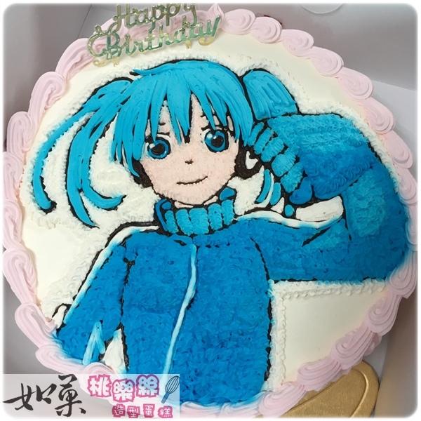編號:101_動漫-ENE手繪卡通造型蛋糕_8吋:1240元/10吋:1540元/12吋:2040元
