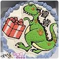 編號:006_恐龍禮物手繪卡通造型蛋糕_8吋:1090元/10吋:1390元/12吋:1890元