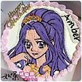 編號:110_偶像學園神崎美月手繪卡通造型蛋糕_8吋:1290元/10吋:1590元/12吋:2090元