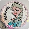 編號101_冰雪奇緣艾莎女王卡通造型蛋糕_8吋:1290元/10吋:1590元/12吋:2090元