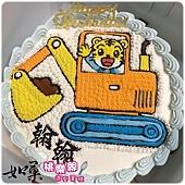 編號131_巧虎開怪手手繪卡通造型蛋糕_8吋:1290元/10吋:1590元/12吋:2090元