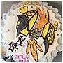 編號:k144_寶可夢-卡璞嗚嗚手繪卡通蛋糕_10吋:1590元/12吋:2090元
