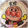 編號:004_麵包超人手繪卡通造型蛋糕_8吋:1140元/10吋:1440元/12吋:1940元