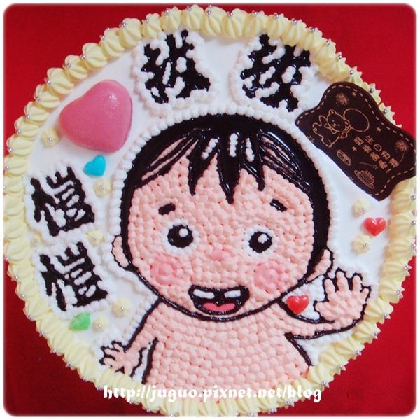 小寶寶造型蛋糕...小小彬?