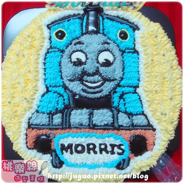 THOMAS湯瑪士小火車卡通造型生日蛋糕_6吋