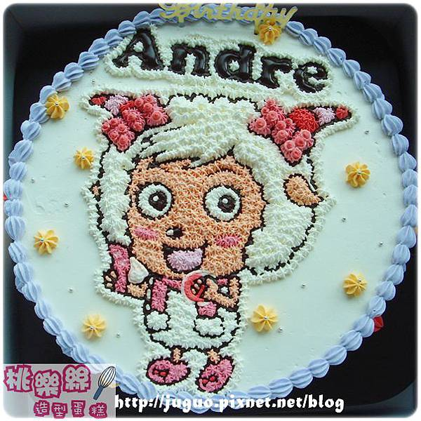 編號012_美羊羊卡通造型蛋糕_8吋:1140元/10吋:1440元/12吋:1940元