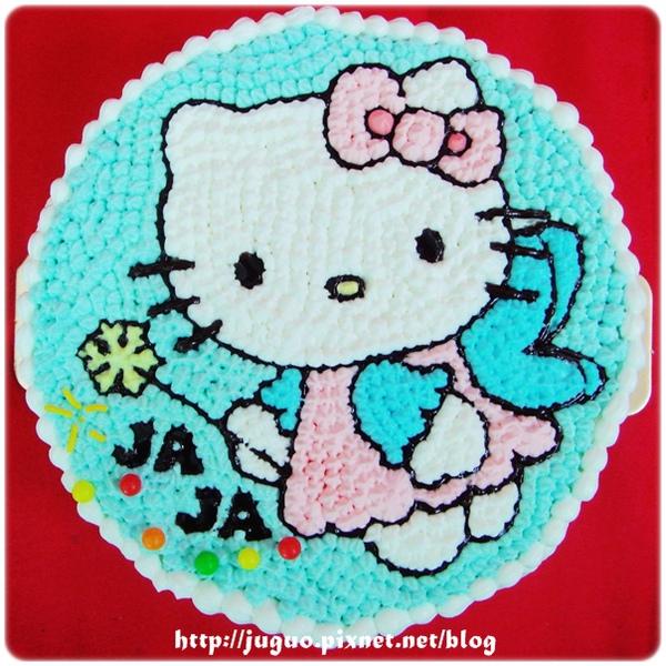Kitty卡通造型蛋糕