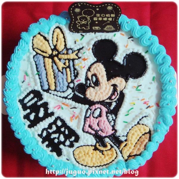 迪士尼米奇-卡通造型蛋糕