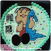 查理布朗拿毛巾卡通造型蛋糕_6吋:780元/8吋:880元/10吋:1180元/12吋:1680元_NO.001
