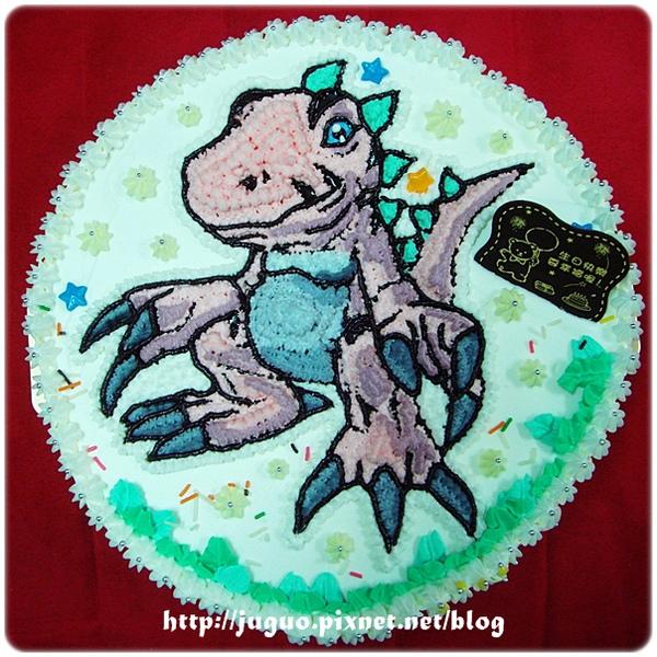 與恐龍共舞-發現侏羅紀之恐龍造型蛋糕_10吋