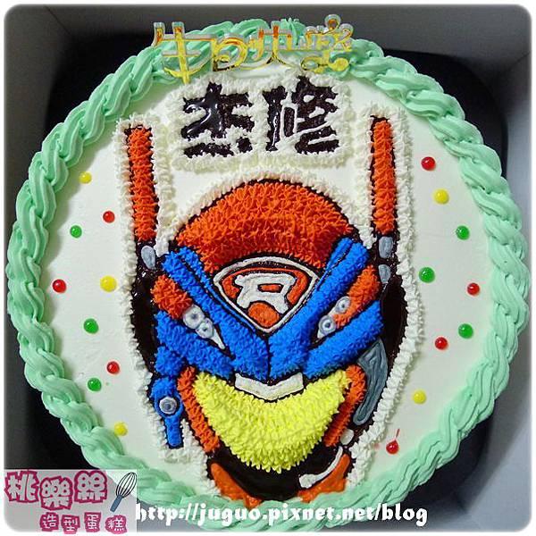 編號:001_119特警隊造型蛋糕_8吋:1090元/10吋:1390元/12吋:1890元