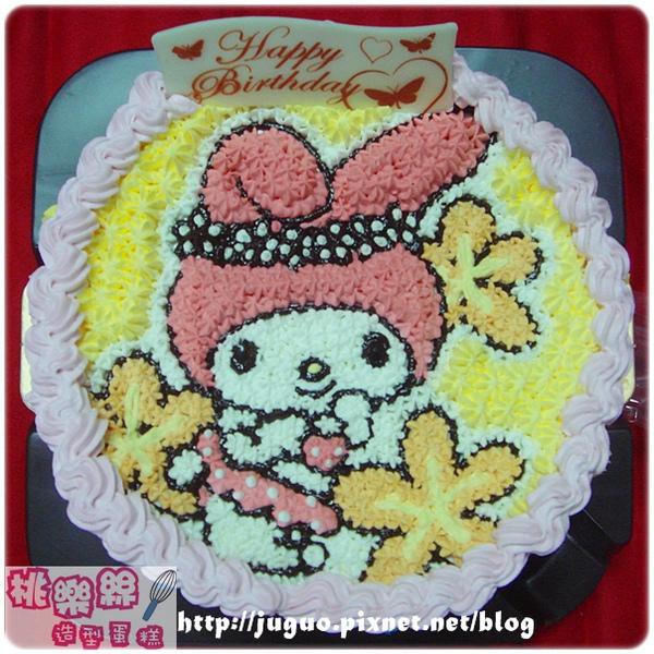 Melody美樂蒂卡通造型蛋糕-6吋