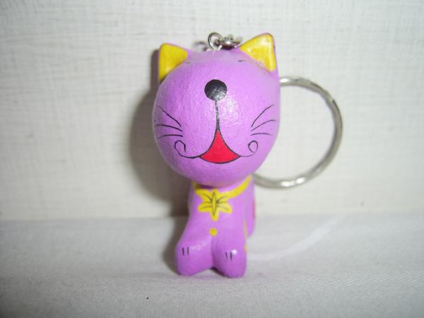 貓貓鑰匙圈
