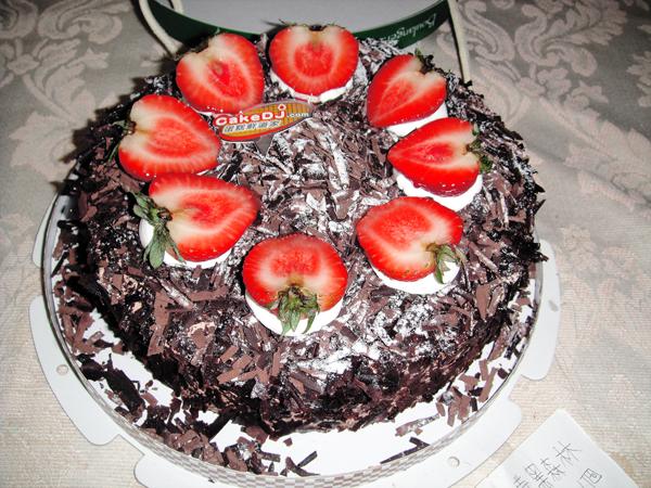 黑森林草莓蛋糕