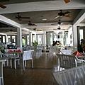 PPR的餐廳就在海灘旁
