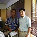 我和部長Dr. Yano的合照