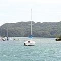 David的船,可惜今天風有點大,不適合出海