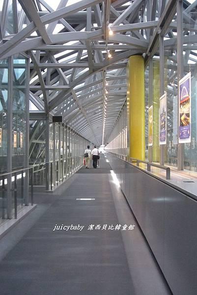 京都車站的空中走廊
