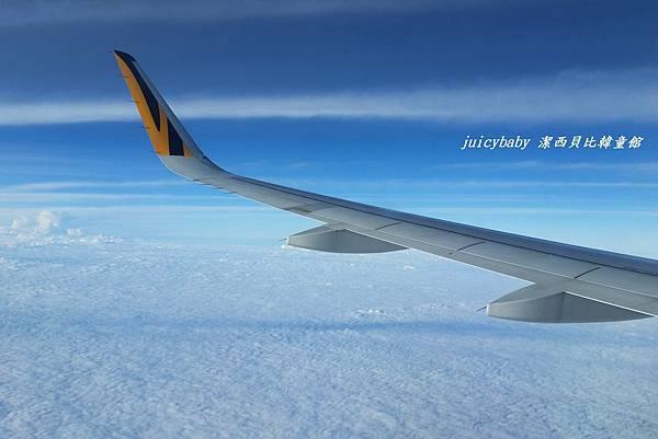 飛清邁的虎航班機上