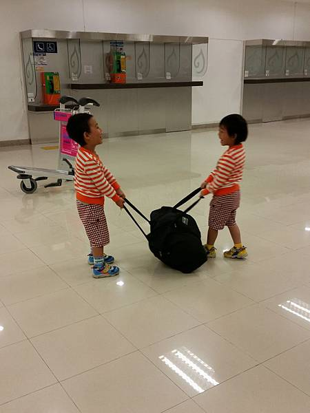 泰國‧清邁機場