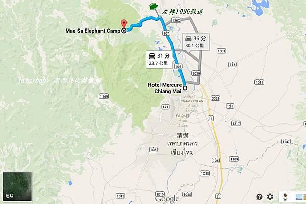 清邁/往Maesa Elephant Camp