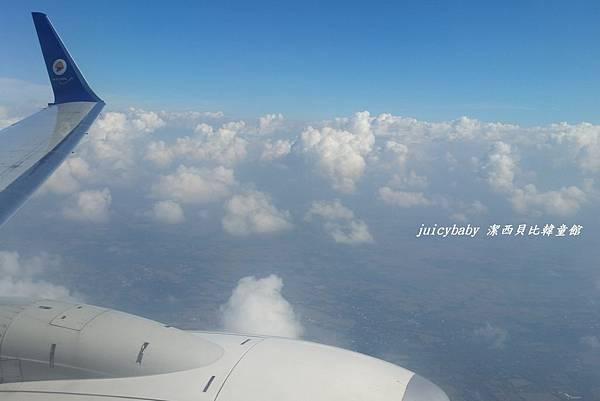 NOK AIR飛機上