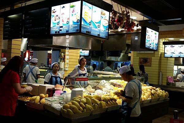 曼谷/Terminal 21美食街