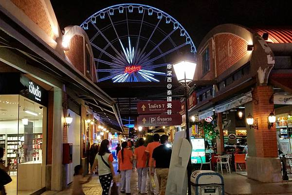 曼谷/ASIATIQUE The Riverfront河畔碼頭夜市