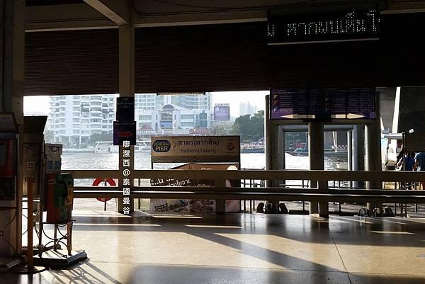 曼谷/招拍耶河交通船路線