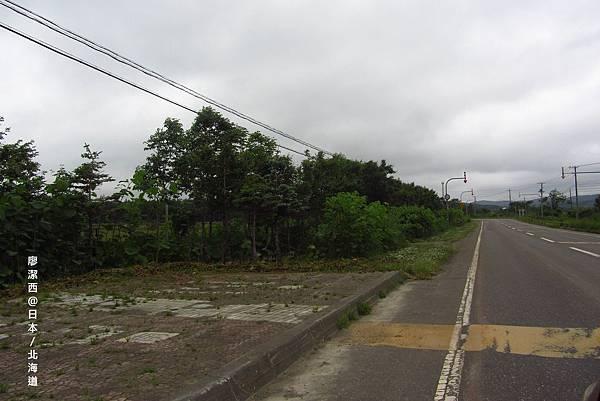北海道/往稚內的道路