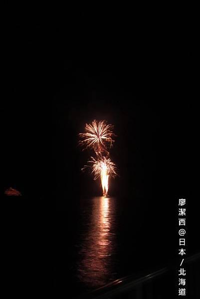 北海道/洞爺湖畔煙火
