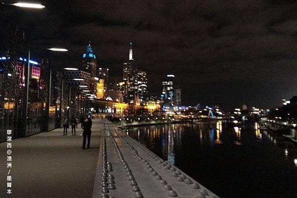 墨爾本/亞拉河畔夜景