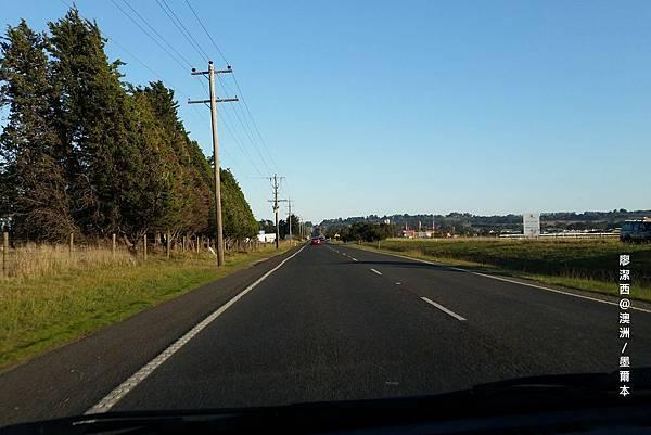 吉隆往大洋路公路景象