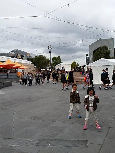 墨爾本/Federation Square