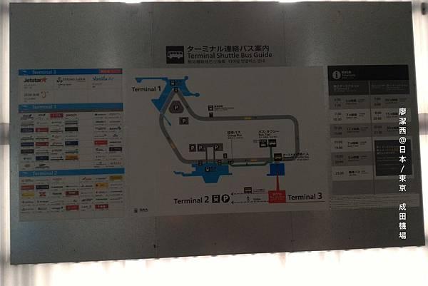 2016/04抵達東京成田機場