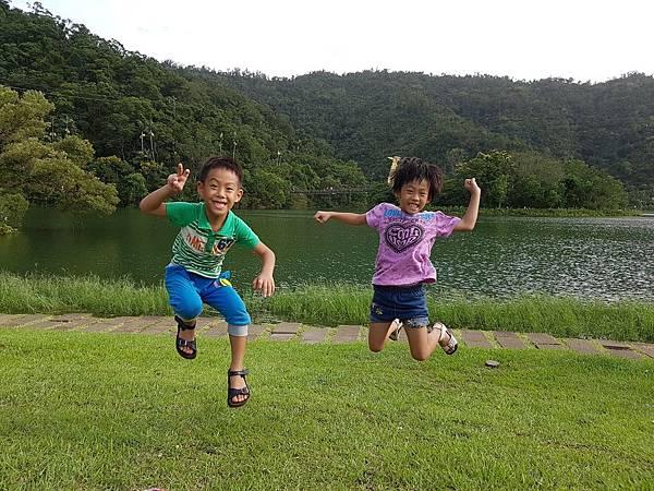 【宜蘭/冬山】梅花湖