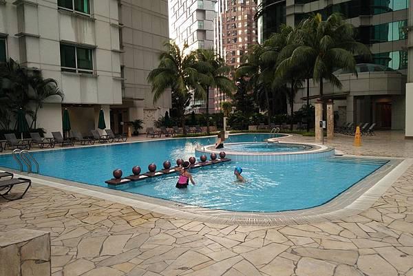 【馬來西亞/吉隆坡】飯店泳池