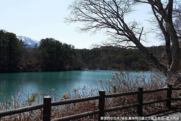 2016/04日本/福島 盤梯朝日国立公園五色沼湖沼區─毘沙門沼