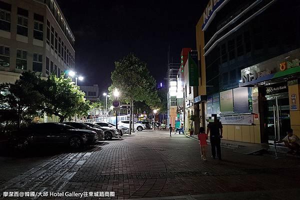 2017/07韓國/大邱 Hotel Gallery往東城路商圈