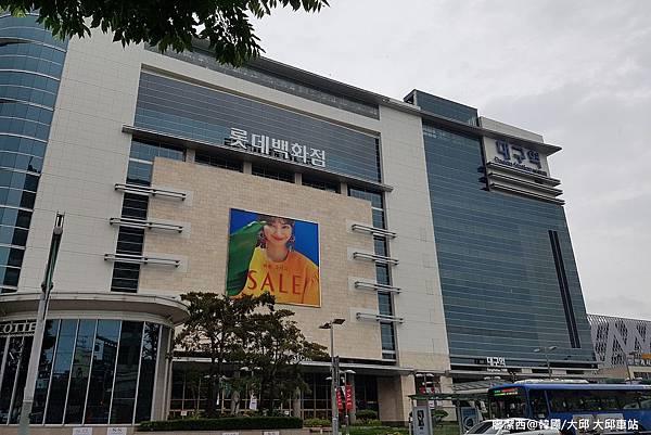 2017/07韓國/大邱 Hotel Gallery往大邱車站