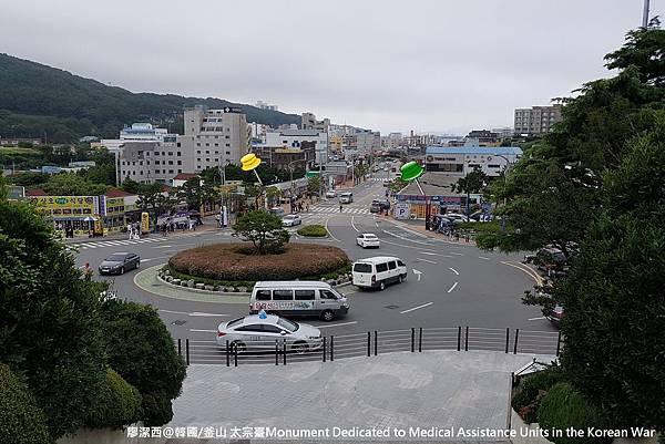 2017/07韓國/釜山 太宗臺景區旁的戰爭紀念碑