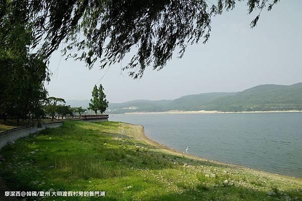 2017/07韓國/慶州 大明渡假村旁的普門湖