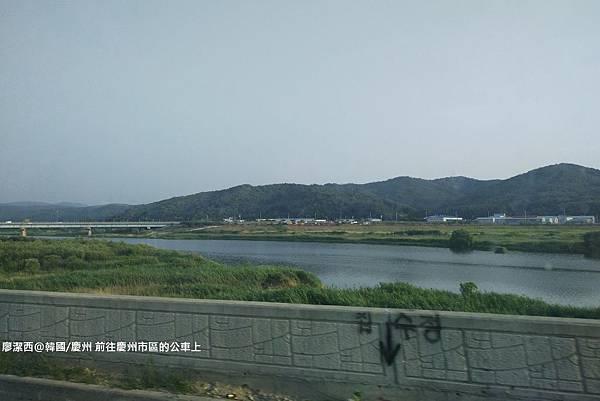 2017/07韓國/慶州 前往慶州市區的公車上