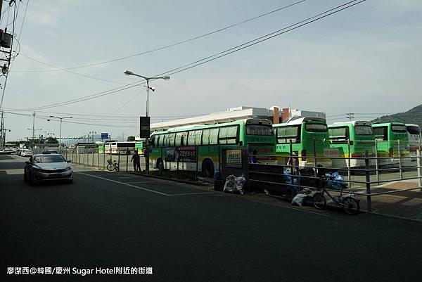 2017/07韓國/慶州 Sugar Hotel附近的街道