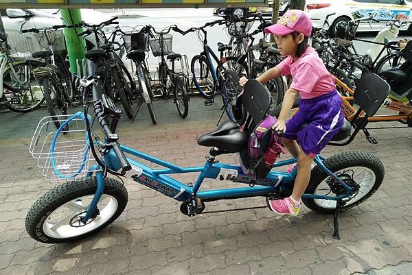 2017/07韓國/慶州 Sugar Hotel附近的腳踏車出租店