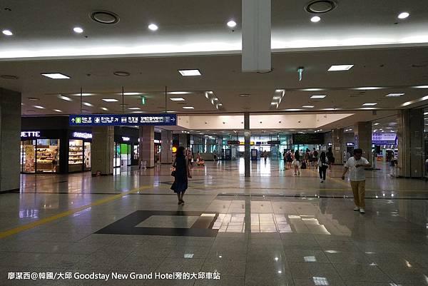 2017/07韓國/大邱 Goodstay New Grand Hotel旁的大邱車站