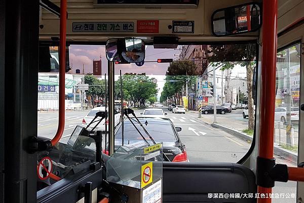 2017/07韓國/大邱 往大邱市區的公車